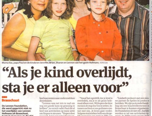 LHF in Gazet van Antwerpen